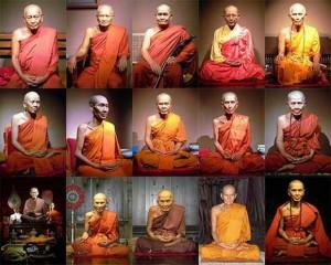 Thai Guru Monks