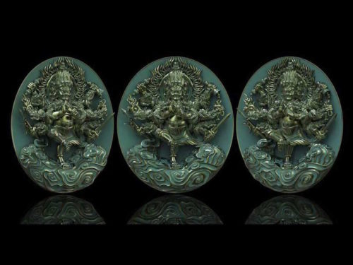 Taw Waes Suwan Asura Deva Coins Burobudur