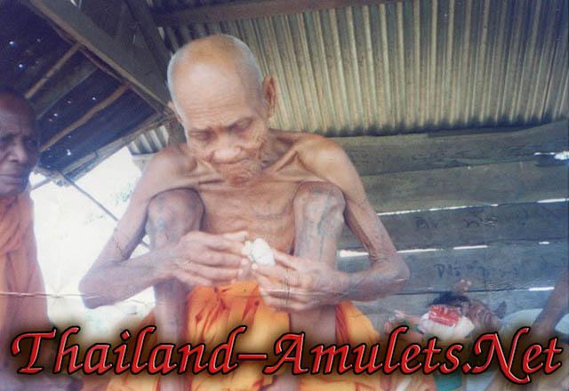 Luang Phu Suang - Tewada Len Din 500 year Old Monk