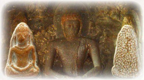 Ancient Amulets Clay Lopburi Era