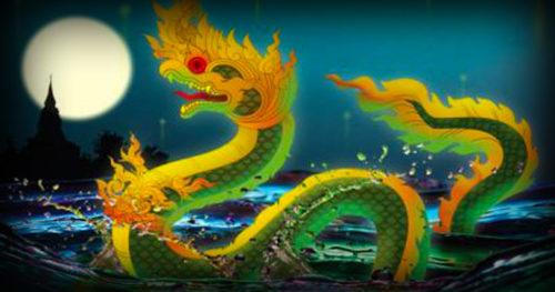 Paya Nak Naga Serpent