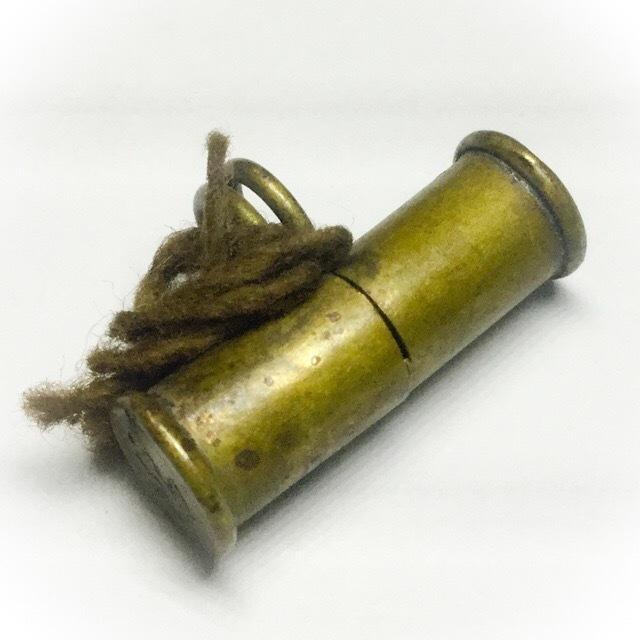 Takrut Look Pern Bullet Stopper Amulet Pra Ajarn Nong Wat Sai Khaw
