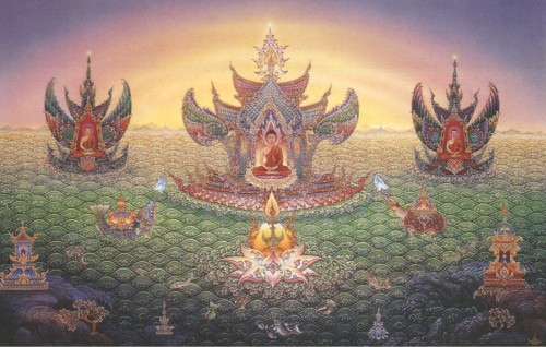 The Pure Realms - Buddha Land