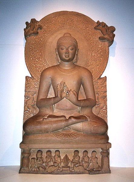 Lord Buddha Dhammajakra Mudra