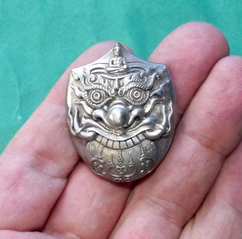 Pra Rahu Eclipse God Thai Amulet