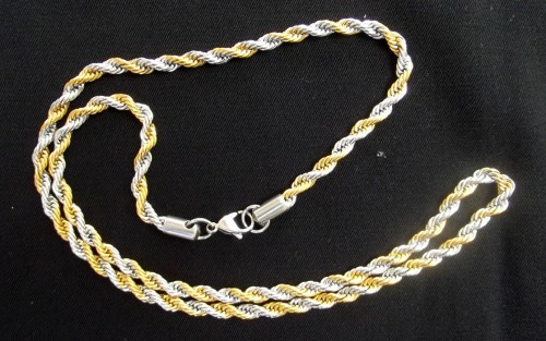 Two Tone (Gold/Silver)