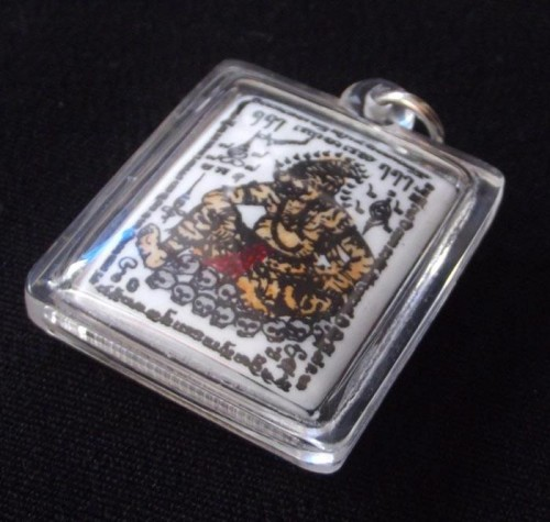 Tiger Face Ruesi locket