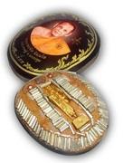 Locket Mang Mee Sri Sukh (Kreung Ongk Song Tan Bad) - 108 Takrut Pra Radtana Trai Spell Inserts