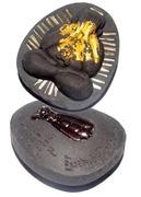 Pra Pid Ta Jumbo Ngern Larn Ongk Kroo - Puttakun Powders with Bees Nest - 28 Takrut + Treasure Bee