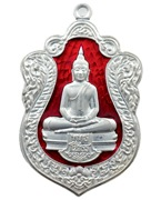 Rian Sema Luang Por Sotorn Buddha coin silver with Rachawadee Enamels in 8 Colors