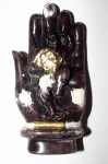 Arahant Bpraab Marn Fa Mer Pra Yulai (Monkey God on Buddha Hand with Takrut Bracelet) - Ajarn Apichai Decha