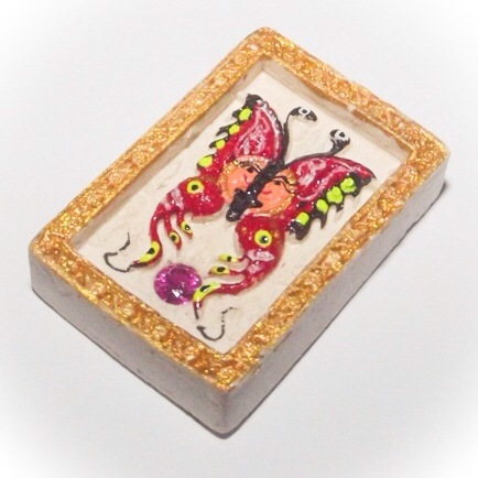 Miniatures Butterfly King Taep Pamorn amulet by Kroo Ba Krissana Intawano