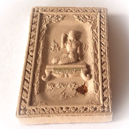 Waving lady amulets made from sacred powders from Kroo Ba Krissana Intawano