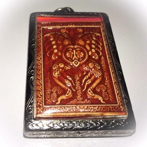 Kroo Ba Krissana Intawano's Taep Jamlaeng Butterfly King Amulet