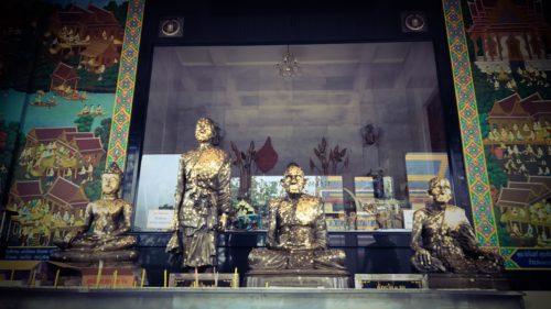 Vihara Shrine of Luang Phu Rerm Baramo at Wat Juk Gacher