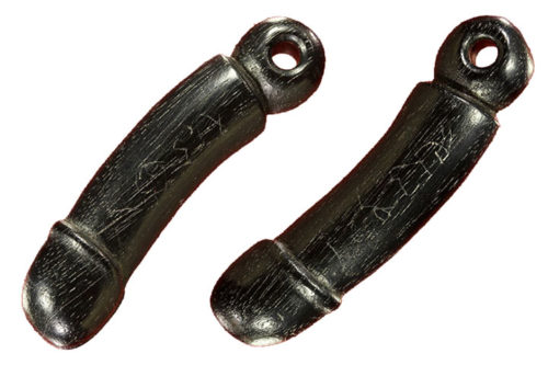 Palad Khik Amulet Carved Sacred Treewood