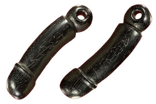 Palad Khik Amulet Carved Sacred Treewood