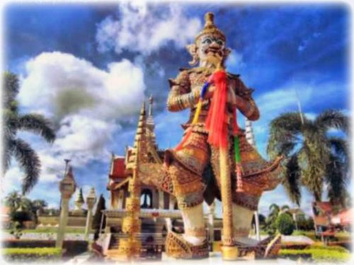 Taw Waes Suwa Asura Deva Thai