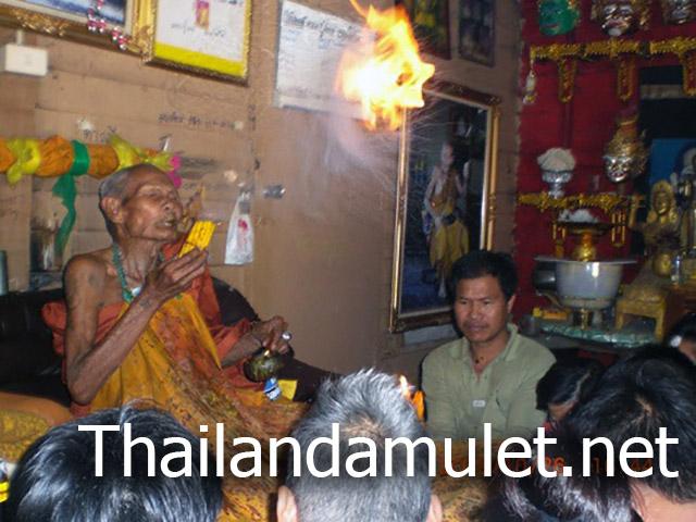 Luang Phu Nong Tammachodto of Wat Wang Sri Tong