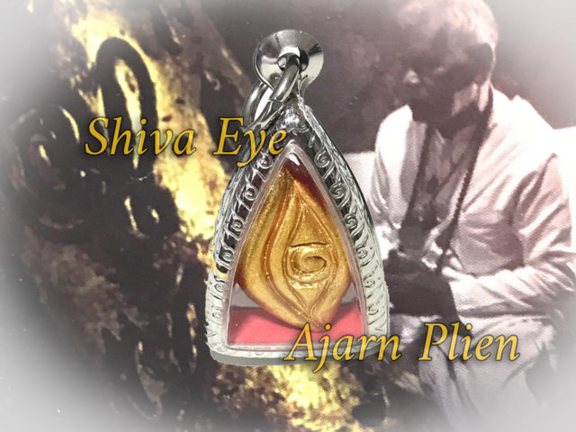 Shiva Eye Amulet Ajarn Plien