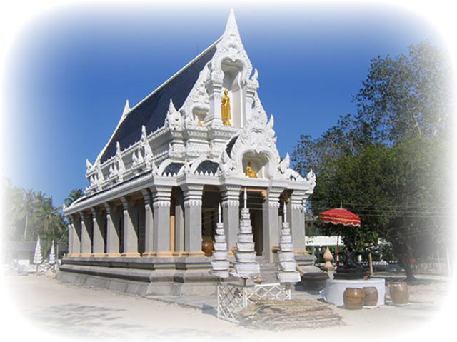 Uposatha Shrineroom of Wat Ta Muang